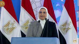 وزيرة التضامن: الرئيس يولي اهتماما بملف الحماية الاجتماعية