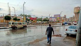 سقوط أمطار ببعض مناطق كفر الشيخ.. ورفع حالة الطوارئ بالمحافظة