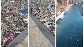 جدل بسبب تلوث ترعة سقارة.. الحكومة تتحرك ومواطنون يقدمون اقتراحات
