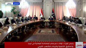 مصطفى مدبولي يدعو «دبيبة» والحكومة الليبية لزيارة مصر