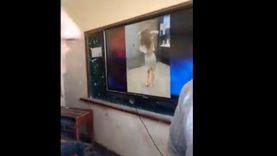 فيديو متداول.. طلاب يشاهدون رقصة لورديانا على السبورة الذكية في الفصل