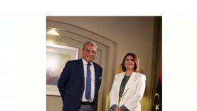وزيرة خارجية ليبيا: زيارتي لمصر تاريخية ووجدت ترحابا صادقا من السيسي