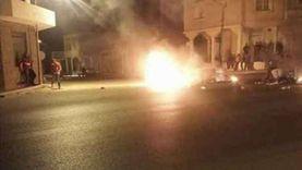 محتجو تونس يحرقون الإطارات والشرطة ترد بـ«قنابل الغاز»