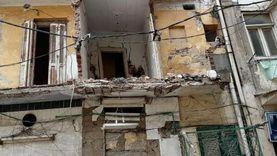 إزالة أجزاء خطرة بـ 4 عقارات غرب الإسكندرية