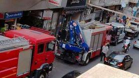 مصرع شخص وإصابة 2 إثر سقوط سقف شقة وسط الإسكندرية