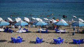 بسبب رحلات اليوم الواحد.. شواطئ الإسكندرية كاملة العدد بالـ«ويك إند»