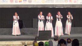 فرقة رضا تشعل مهرجان الطبول الدولي والفنون التراثية بالقلعة