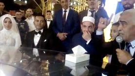 نقيب المأذونين يوصي ابنته ليلة زفافها: لو جوزك رفض تزوريني اسمعي كلامه