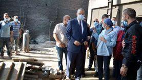 """وزيرة البيئة ومحافظ القليوبية: خطة لتطوير منطقة """"العكرشة"""""""