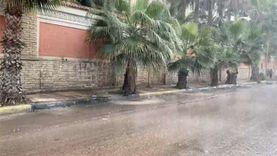 أمطار متوسطة بالإسكندرية في أول أيام نوة السلوم ورفع حالة الطوارئ