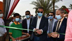 """محافظ الفيوم يفتتح مدرسة """"أبو سعاد الإعدادية"""" بسنورس بعد تطويرها"""