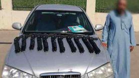أمن البحيرة ينجح في ضبط تاجر سلاح قبل بيع 11 قطعة