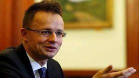 """وزير خارجية المجر: استحالة وقف الهجرة غير الشرعية """"كذبة"""".. ومصر فعلتها"""