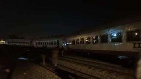 رسلان: انقلاب عربات قطار إسكندرية عارض فني ولا توجد إصابات
