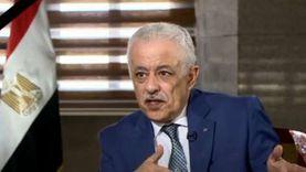 وزير التعليم: مفيش موازنة لتعيين مدرسين وهنعين حسب طلب كل محافظ