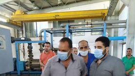 حملات صحية على محطات التحلية وخزانات المياه بمدينة دهب
