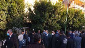 محافظ كفر الشيخ يعزي رئيس الأمن الوطني في وفاة شقيقه