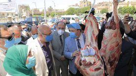 """محافظ بني سويف يفتتح معرض """"أضحىمبارك"""" للحوم والسلع بأسعار مخفضة"""