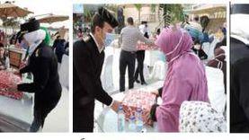 3 مديريات أمن تحتفي بأسر الشهداء في ذكرى عيد الشرطة
