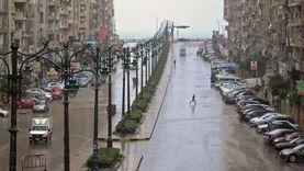 أمطار غزيرة تجتاح الإسكندرية والمحافظة تعلن الطوارئ