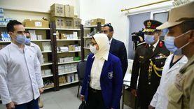 وزيرة الصحة تزور المركز الطبي المصري ببيروت.. خدمات مجانية لـ100 ألف متردد