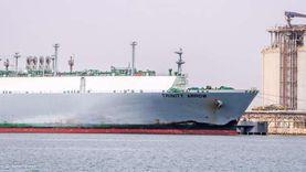 ميناء دمياط يستقبل ناقلة الغاز المسال «TRINITY ARROW»المتجهة لبنجلاديش