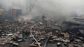 يوم مثير في روسيا.. اندلاع حريق في مصنع متفجرات وإحباط مخطط داعشي