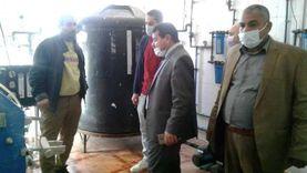 سيارات مياه لملء خزانات مستشفى الواسطى بسبب ضعف الخدمة