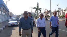"""محافظ بورسعيد يتفقد أعمال تطوير قرية """"بالما"""" السياحية قبل افتتاحها"""