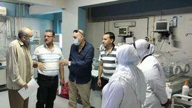 حملة لمتابعة سير العمل في مستشفيات دمياط خلال العيد