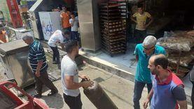"""فض تجمعات الباعة الجائلين أمام لجان انتخابات """"الشيوخ"""" بالدقهلية"""