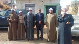 وفد من الأزهر والأوقاف في قافلة دعوية لزيارة مساجد قرية البرشا بالمنيا