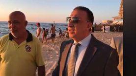 محمد الشريف: يصعب وضع حراسات على كافة شواطئ الإسكندرية