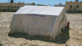 معسكر إيواء عاجل لمواجهة الكوارث بمدينة نويبع