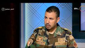 ضابط بالمظلات للمصريين: جيش مصر قوي وقادر دائما.. كونوا مطمئنين