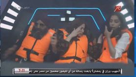 انسحاب مبكر وبكاء.. 7 ملاحظات من حلقة نسرين طافش مع رامز جلال «فيديو»