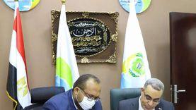 """بروتوكول تعاون بين """"مياه أسيوط"""" وبنك مصر لتفعيل التحصيل الإلكتروني"""