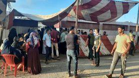 إقبال كثيف من الناخبين بلجنة الشهيد محمد شويقة بدمياط