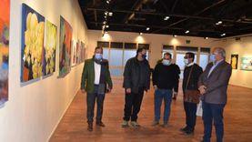 رئيس صندوق التنمية الثقافية يتفقد معرض نتاج ملتقى الأقصر للتصوير