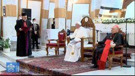 البابا فرنسيس يصلي بالمسلمين واليهود والمسيحيين بجوار بيت النبي إبراهيم غدا