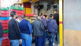 إقبال المواطنين على محلات الكنافة بالسيدة: ليها طعم تاني خالص
