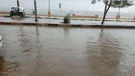 أمطار رعدية غزيرة البحيرة.. ورفع درجة الاستعداد للقصوى بالمحافظة