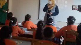 ندوات عن أهمية لقاح كورونا لطلاب مدارس الإسماعيلية