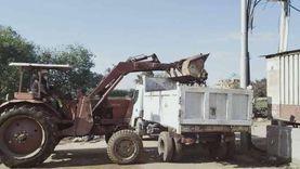 حملات نظافة مكثفة ورفع كفاءة الإنارة بمدن وقرى كفر الشيخ 