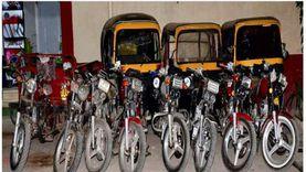ضبط تشكيل عصابي تخصص في سرقة الدراجات النارية.. 10 وقائع بـ 4 محافظات