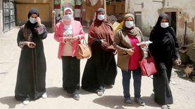 """مشروعات """"مستقبل وطن"""" بأسوان تدعم مرشحيها من خلال المرأة"""