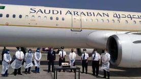 وصول أولى رحلات الخطوط الجوية السعودية لمطاري أسيوط وسوهاج الدوليين