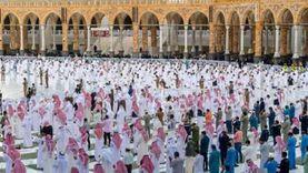 صلاة عيد الفطر في الحرم المكي والمسجد النبوي (صور)