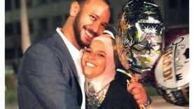 """""""علياء"""" ابنة خالد صالح احتفلت بزفافها """"محجبة"""" وطاردتها الأضواء"""