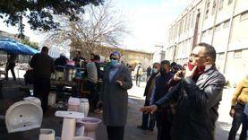 حملة مكبرة على سوقي الجمعة والحمام غرب الإسكندرية